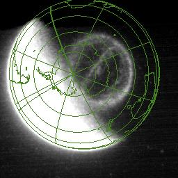A theta aurora -- so named because it looks like a Greek letter theta, a circle with a line through the middle -- as seen by NASA's IMAGE satellite on Sept. 15, 2005. New research helps explains what causes these unique events. Credit NASA/R. Fear et al (2014)