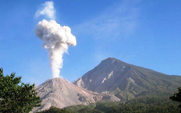 Santa María Volcano is an active volcano in the western highlands of Guatemala