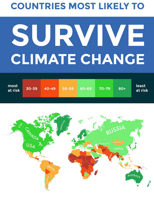 Climate Risk Map Mainly Countries Hostile To The Usa Watts Up
