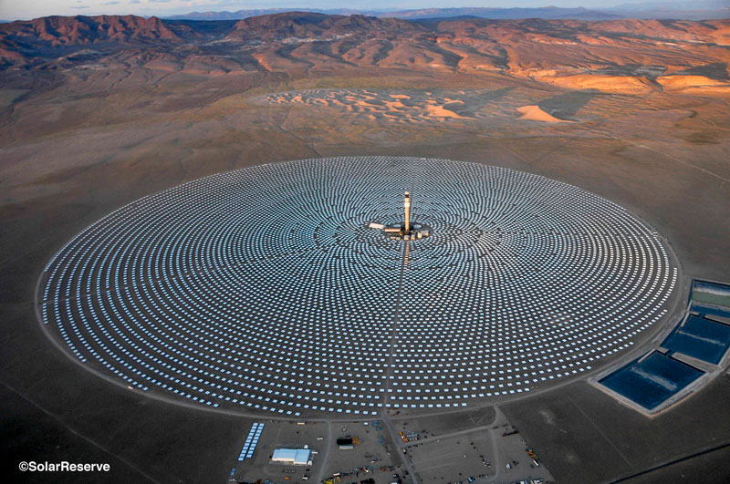 ... tests of the 110-megawatt Crescent Dunes Solar Energy Project