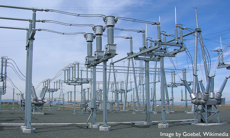 Electrical Substation Near Denver Article Caption