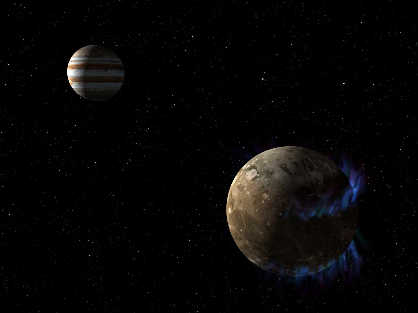 NASA's Hubble observations suggest underground ocean on ...