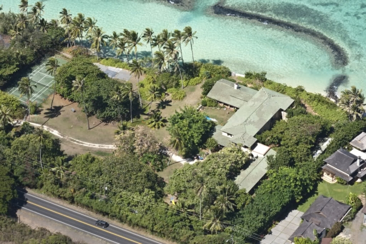 """The estate used in the filming of """"Magnum, P.I. """""""