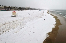 snow-huntington-beach