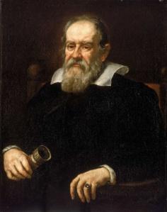 Portrait of Galileo Galilei, 1638 by Justus Sustermans. Source Wikipedia
