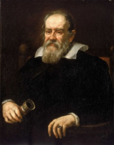 Portrait of Galileo Galilei, 1638 by Justus Sustermans. Source Wikipedia