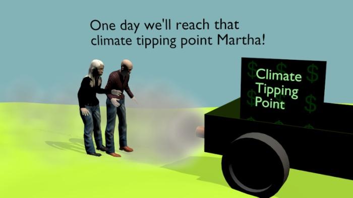 One day we'll reach that tipping point Martha!