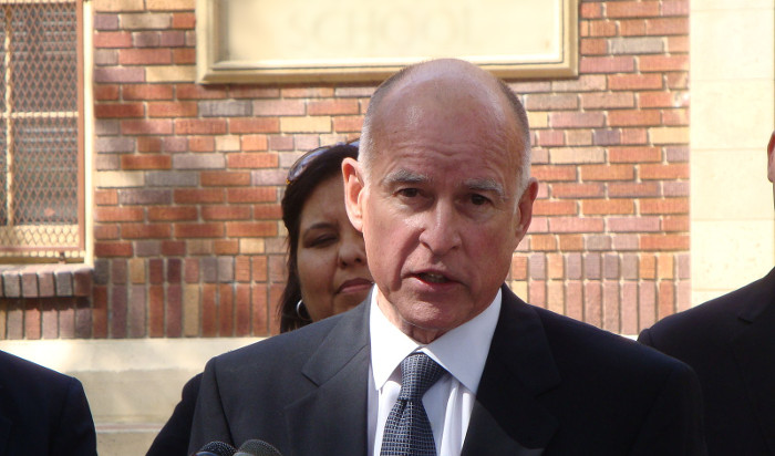 Jerry Brown, photo author Neon Tommy, source Wikimedia