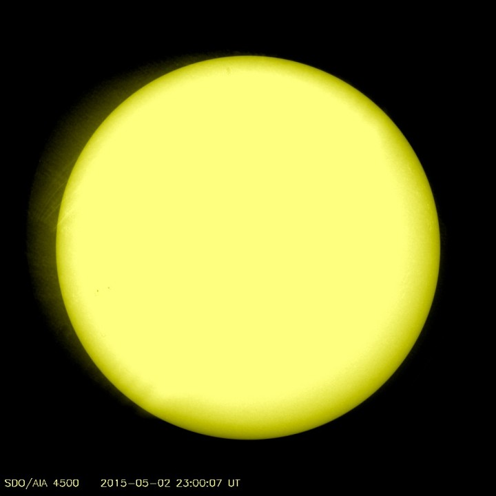 The Sun Is Almost Completely Blank Sdo_latest_1024_4500