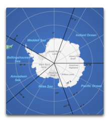antarctica ice areas
