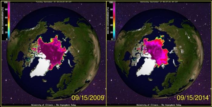 Arctic-sea-ice-sep-2009-2014
