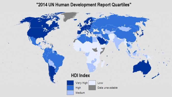 global-HDI-map