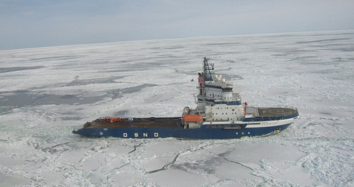 Icebreaker Fennica, source Wikimedia (attribution license - author Marcusroos https://commons.wikimedia.org/wiki/File:Icebreaker_Fennica.jpg
