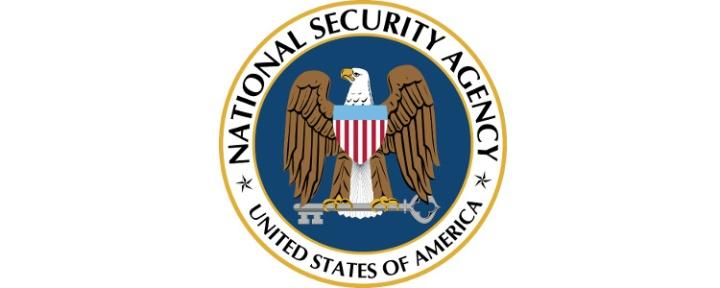 National Security Agency insignia, public domain, source Wikimedia - https://commons.wikimedia.org/wiki/File:National_Security_Agency.svg