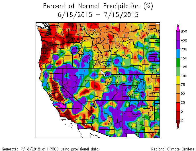 Southwest-precip-June-July-2015