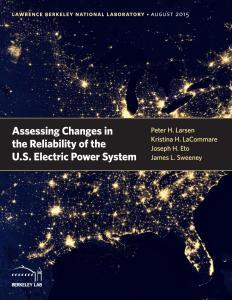 electrcity-reliability report