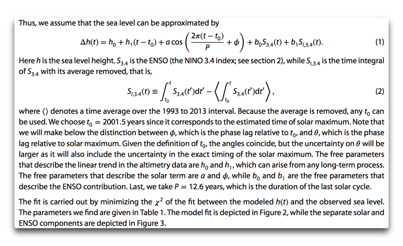 shaviv model formula