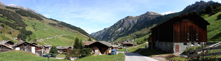 View looking north over Vals, Switzerland, author Archipreneur, attribution license, source https://commons.wikimedia.org/wiki/File:Vals_switzerland_pan_archipreneur.jpg