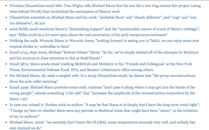 The Need To Revisit The Climategate Revelations To Counter