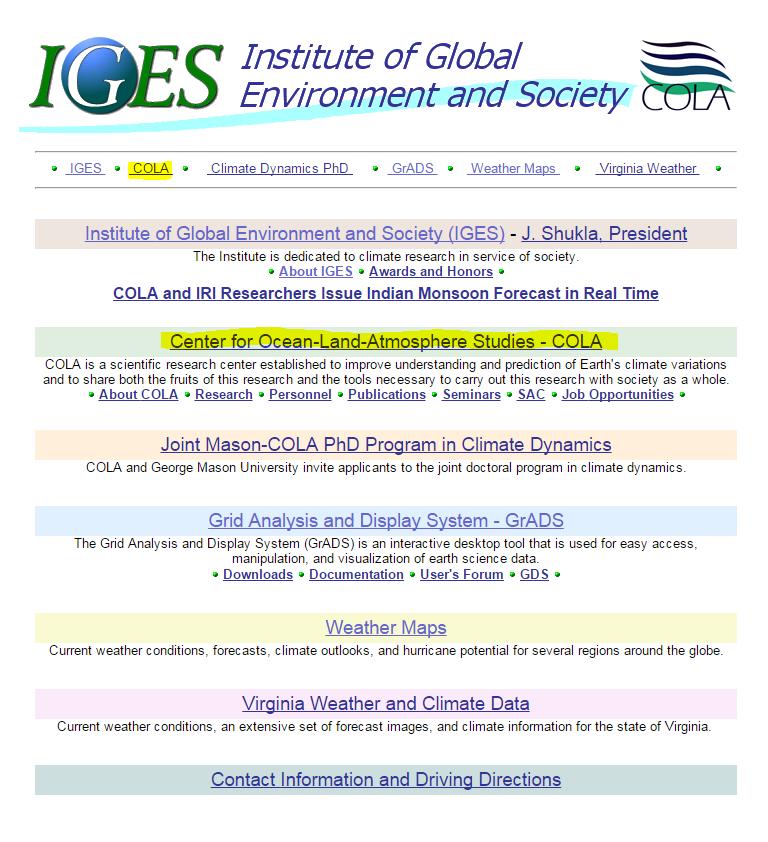 IGES-COLA-website