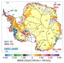 antarctica-ice-map