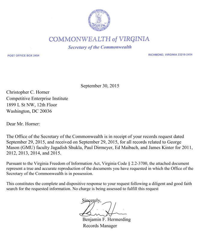 horner-foia-request-vagov-office