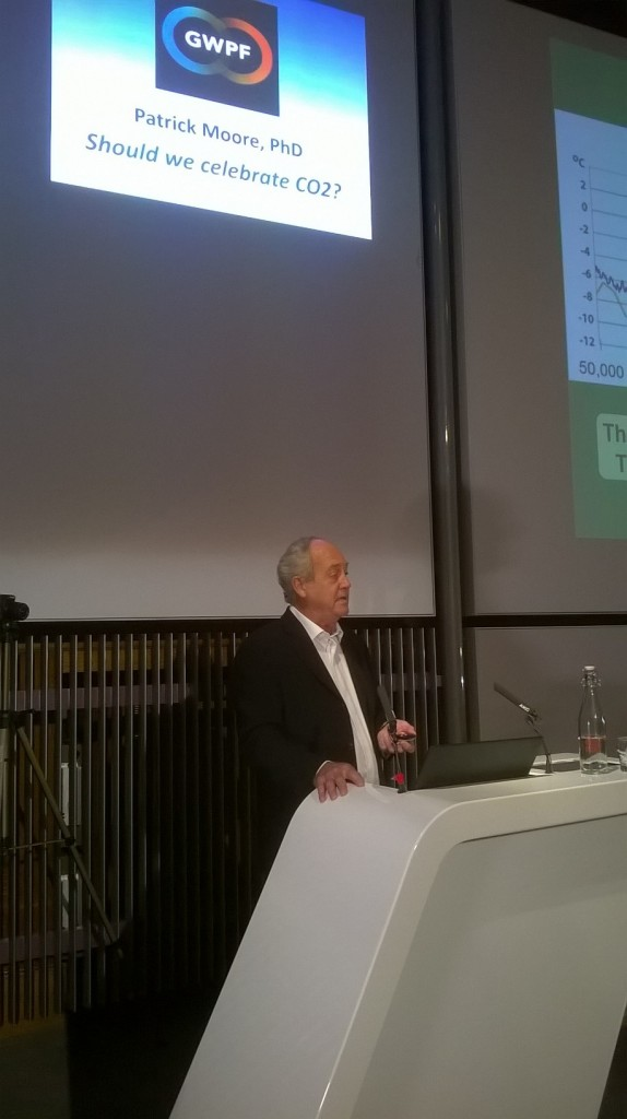 Greenpeace founder delivers powerful annual lecture, praises