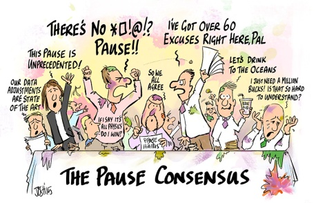 Image result for Josh cartoon global warming pause