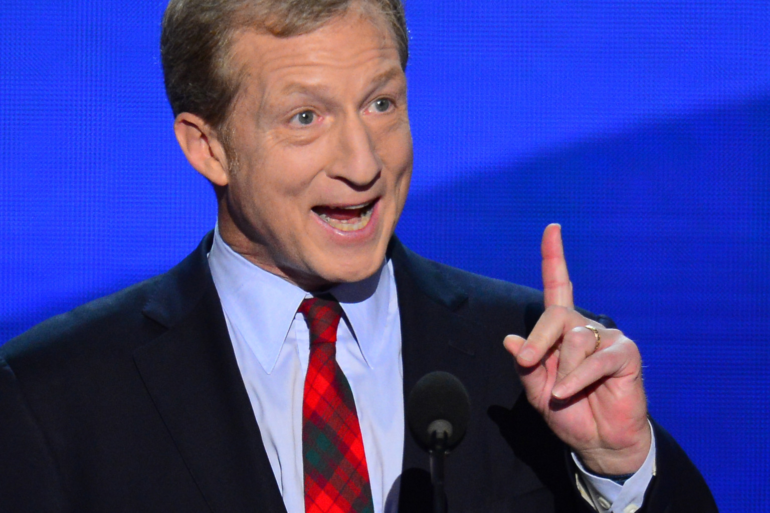 Tom Steyer >> Green Billionaire Climate Campaigner Tom Steyer Wants