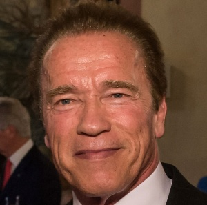 Arnold Schwarzenegger, Author Joerg Koch, source Wikimedia