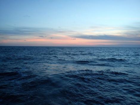 Kuvassa näkymätön Tyynenmeren jätepyörre.
