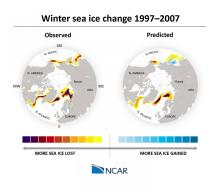UCAR-sea-ice-model