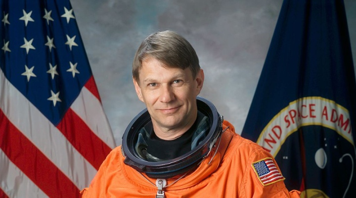 NASA Climate Scientist Piers Sellers, Public Domain Image, Source Wikimedia