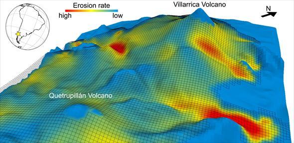 glaciation-volcanoes