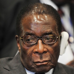 Robert Mugabe, president of Zimbabwe, attends the 12th African Union Summit Feb. 2, 2009 in Addis Ababa, Ethiopia.