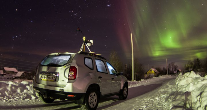 Researchers ferry weather system sensors to Apatity, a Russian Arctic city. The team's data show that during the polar night, indoor heating can bleed into the environment, warming it by as much as 10 degrees Celsius relative to nearby rural sites.