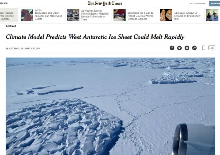 antarctic melting essay Just not as much as the land ice melting from greenland and antarctica] why is this important for many reasons, but the scariest is sea level rise.