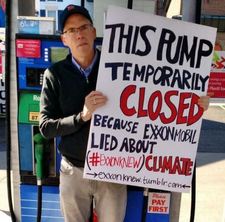 Bill McKibben of 350.org makes a fool of himself on private property