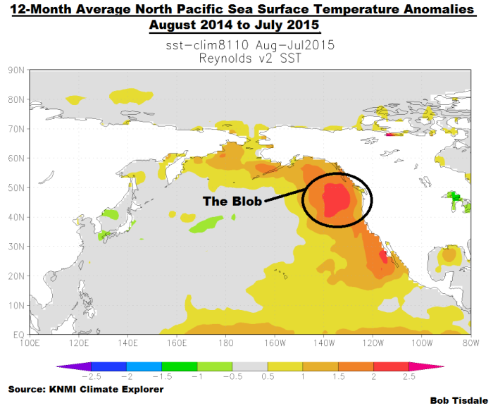 Possible Explanation For Warm Ocean Water Off the Oregon