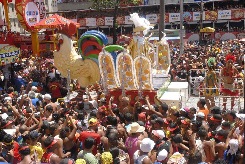 O Galo da Madrugada, Carnaval do Recife, Pernambuco, Brasil