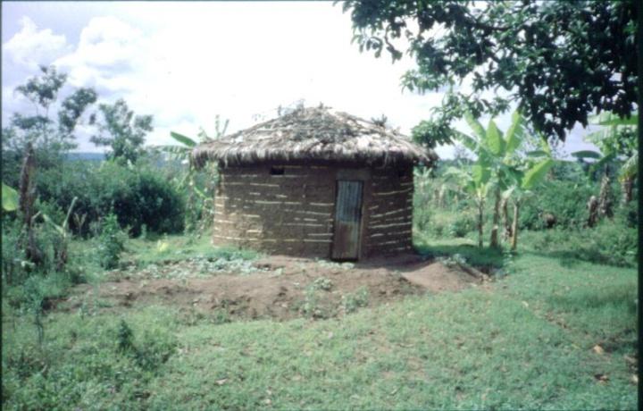Round Hut, Lehm, Rwanda