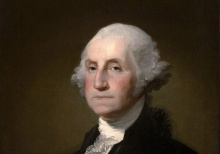 Portrait of President George Washington.