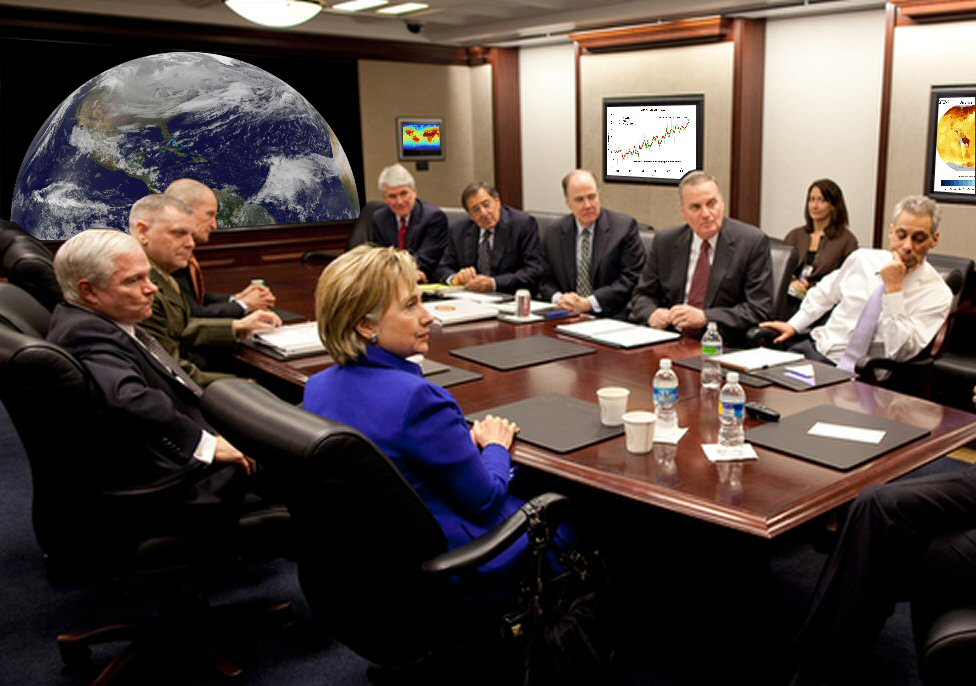 If elected, Hillary plans to install \'climate situation room\' in the ...