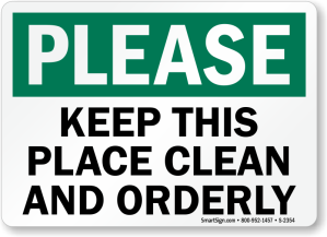 housekeeping-place-clean-sign
