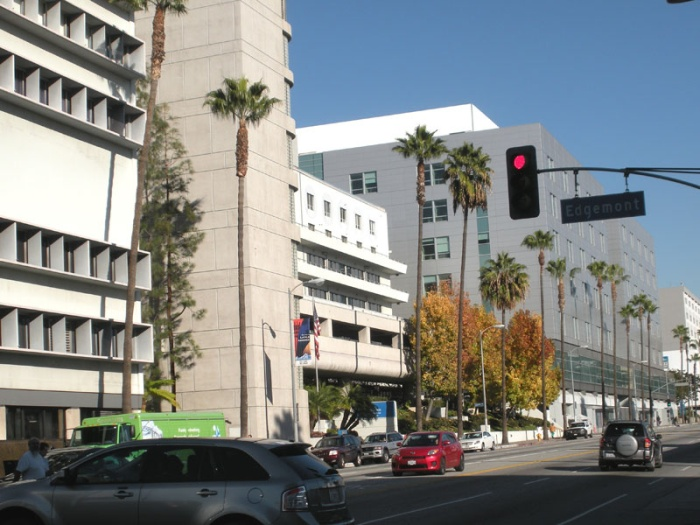 Kaiser Sunset Hospital complex in Los Angeles, California