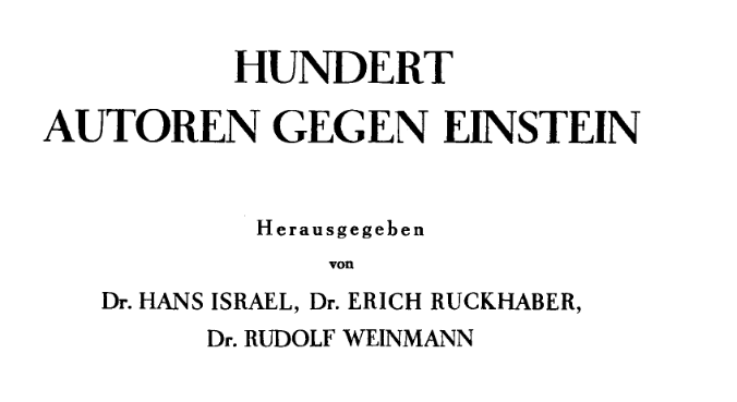 hundred-authors-against-einstein