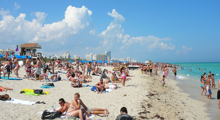 South Beach, Miami Florida.