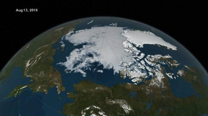 Warm Arctic winter starts sea ice off at a record low