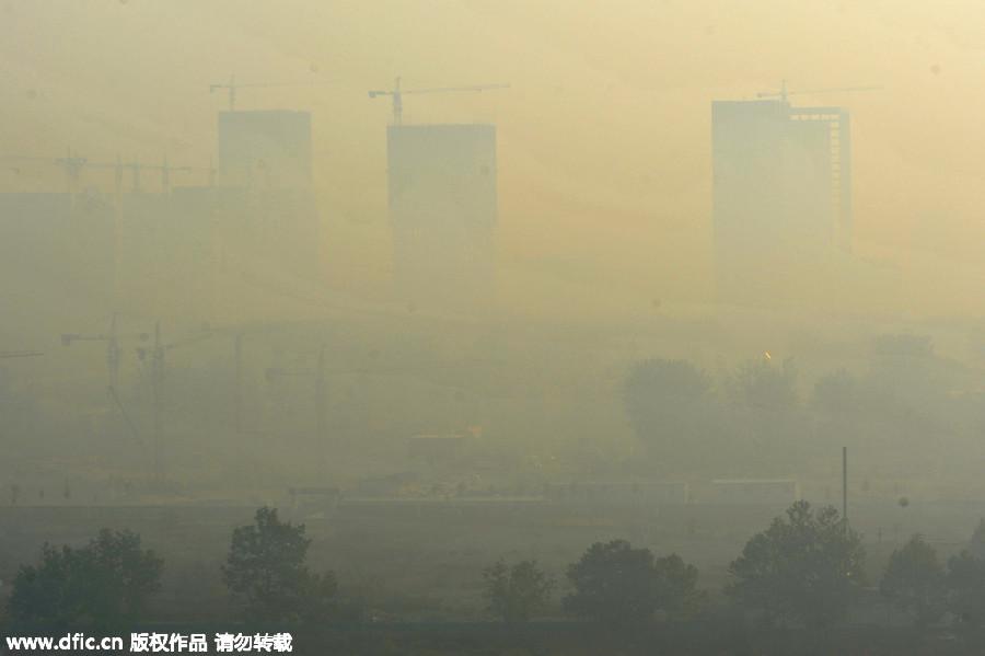 chinese-haze-city