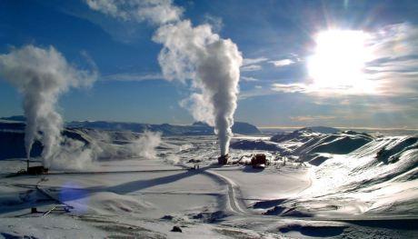 Krafla geothermal power station